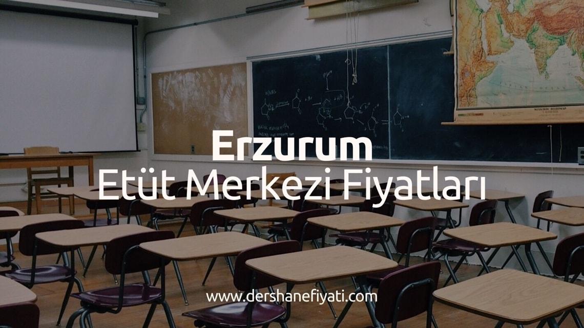 Erzurum Etüt Merkezi Fiyatları - Erzurumdaki Etüt Merkezleri ve ücretleri